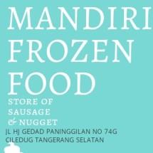 Logo Mandiri Frozen