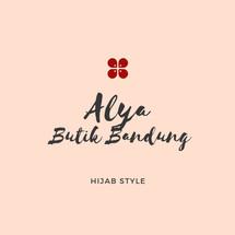 Logo Alya Butik Bandung
