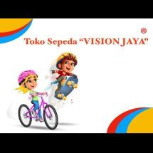 Logo toko sepeda Vision Jaya