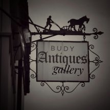 Budy Antiques Gallery Logo