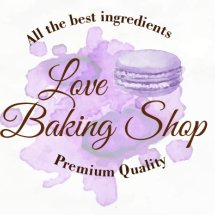 Logo Love Baking Shop