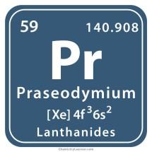 Logo praseodymium mart