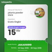 Logo jakarta powder store