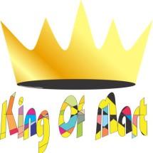 Logo king of mart