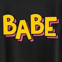 Logo toko online babe