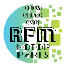 Logo RFM motor parts