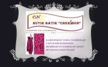 Butik Batik Cheribon