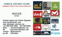 emrick apparel store