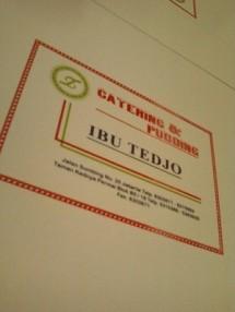 Catering Ibu Tedjo