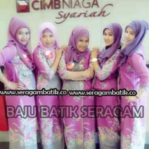 Baju Batik seragam