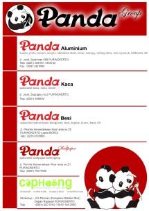 Panda aluminium