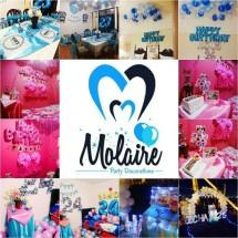 Molaire Party Decoration