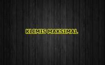 KLIMIS MAKSIMAL