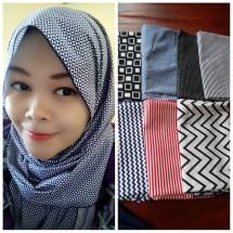 Grosir Hijab Monochrome