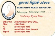 Gerai Hijab Store
