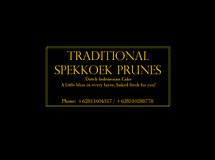 Spekkoek Prunes Medan