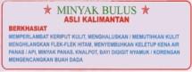 Minyak Bulus Kalimantan