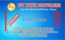 Edy Teknik Scaffolding
