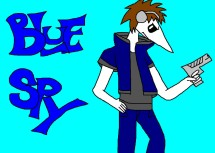 BLUE SPY