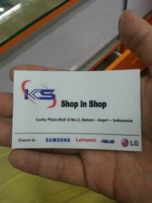 Shop in shop batam