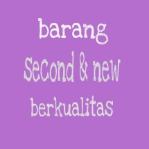 second&new murah