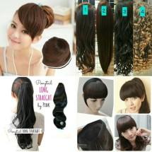 rambut hiasan