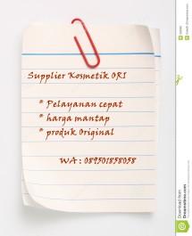 Supplier Kosmetik ORI