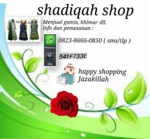 shadiqah shop