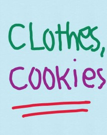 clothes cookies