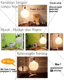 Lampu Hias PVC