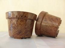 Pot Bunga Motif Marmer