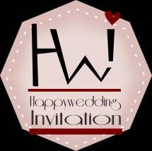 Happywedding Invitation