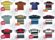 Striped Shirts Bandung