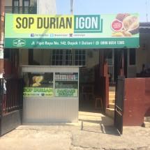 Sop Durian Igon