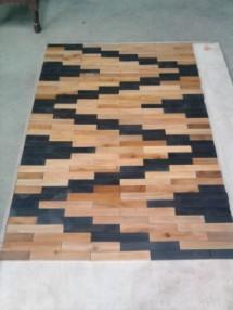 karpet kayu