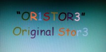 """OR1STOR3"""
