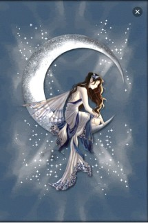 Silver Moon Angel