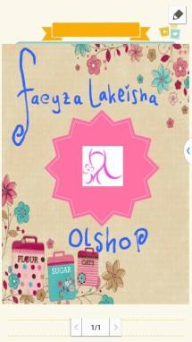 faeyza lakeisha olshop