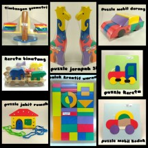 Kong's wooden toys