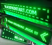 Running Text Pekanbaru