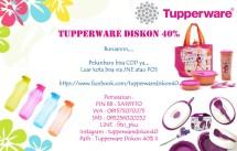 Tupperware Diskon 40%