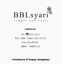 BBL Hijab Syari