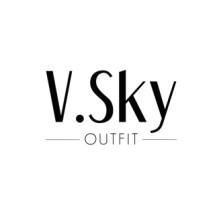 V Sky Outfit