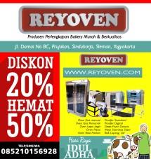 Jual Oven Gas Reyoven
