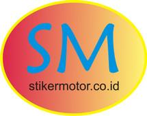 stiker motor bogor