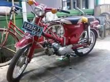 aksesoris motor bekas