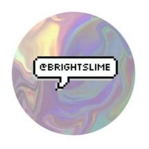 Bright slime