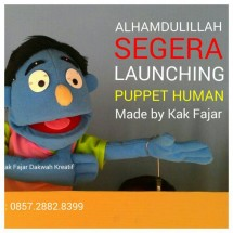 Boneka Puppet Edukasi