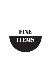 Fine Items