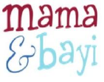 mama dan bayi
